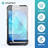 smartect® Samsung Galaxy Xcover 3 Glass Screen Protector • Tempered Glass with 9h Hardness • 0,3 mm Ultra-Thin and Clear • Anti Finger-Print Coating • 2.5D Rounded Edges