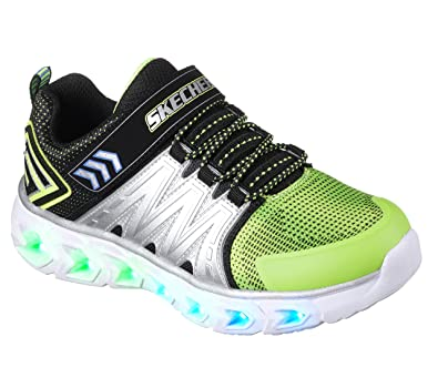 52b1953d3f39 Skechers Hypno-Flash Boys Light Up Trainers  Amazon.co.uk  Shoes   Bags