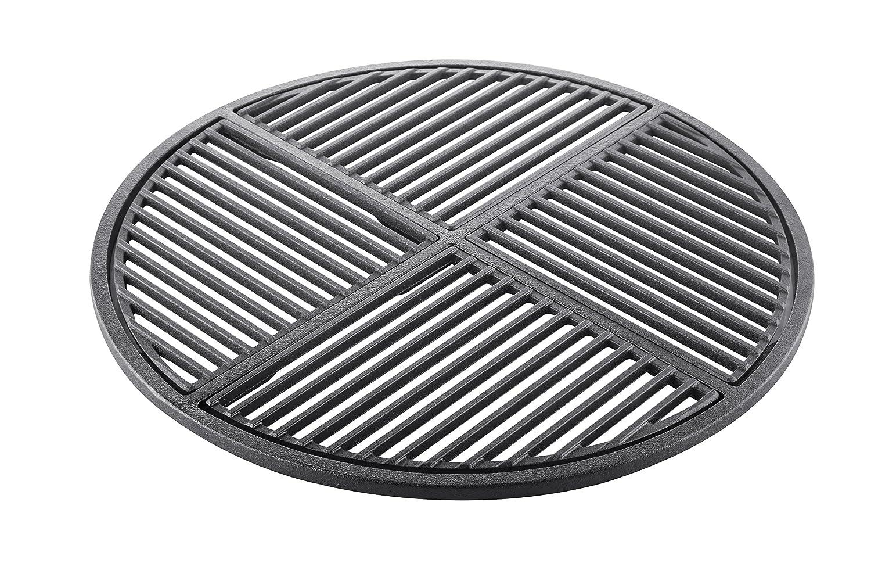 Weber Holzkohlegrill Einbrennen : Cig 57 vierteiliger grillrost für 57 cm grills aus gusseisen neue