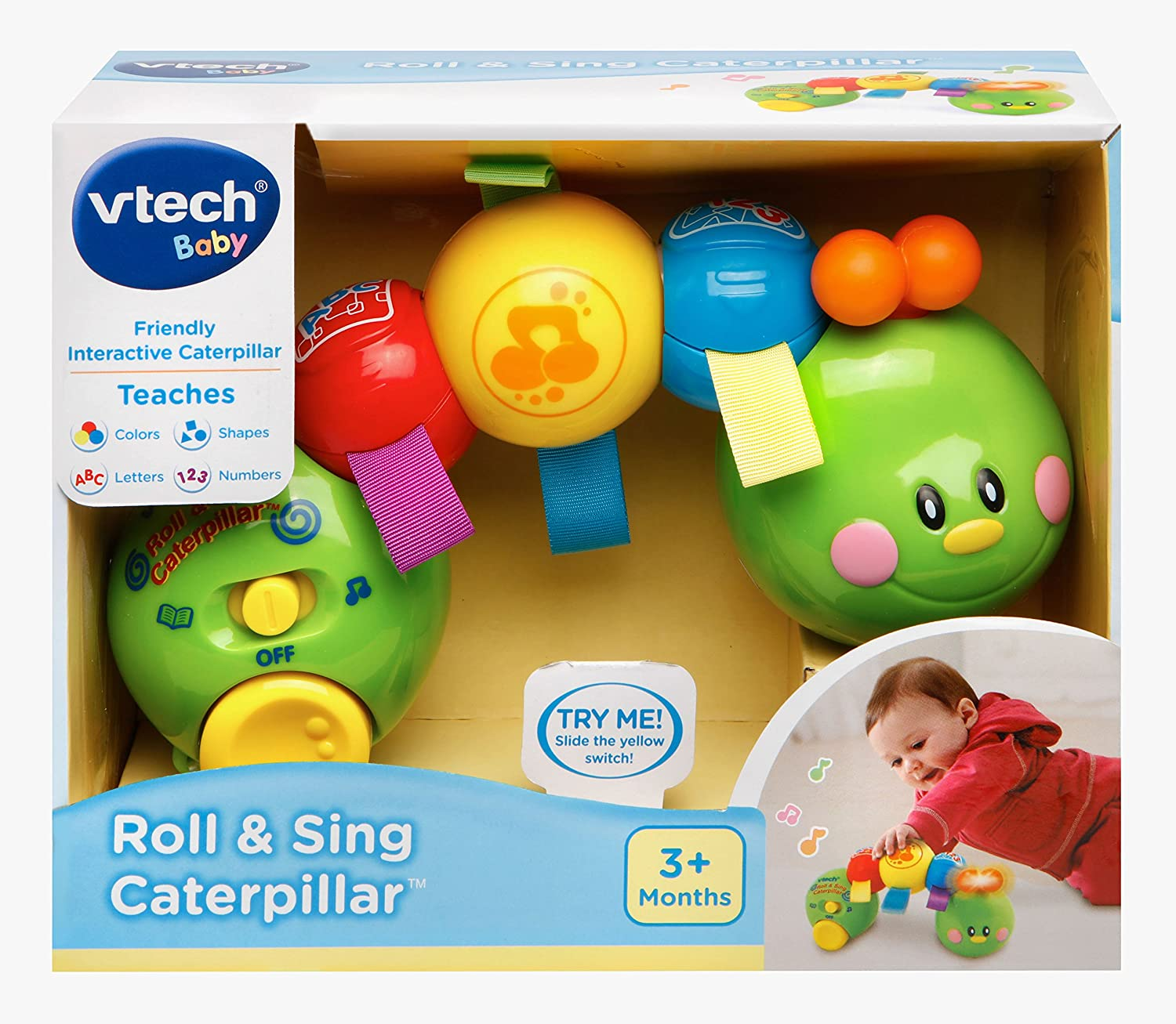 Amazon VTech Baby Roll and Sing Caterpillar Toys & Games
