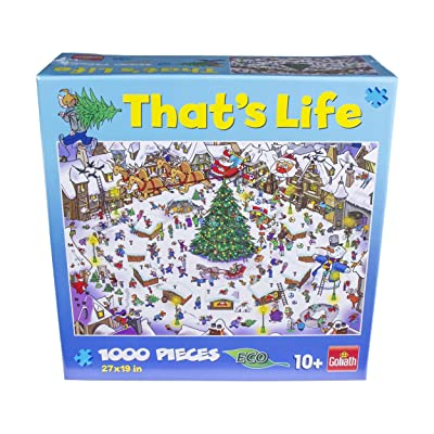 That's Life - 1000Piece Puzzle - The Christmas: Toys & Games