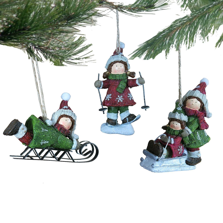 Amazon Lee s Home Christmas Knitting Finish Skiing Kids
