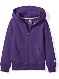 Starter Girls' Zip-Up Hoodie, Amazon Exclusive