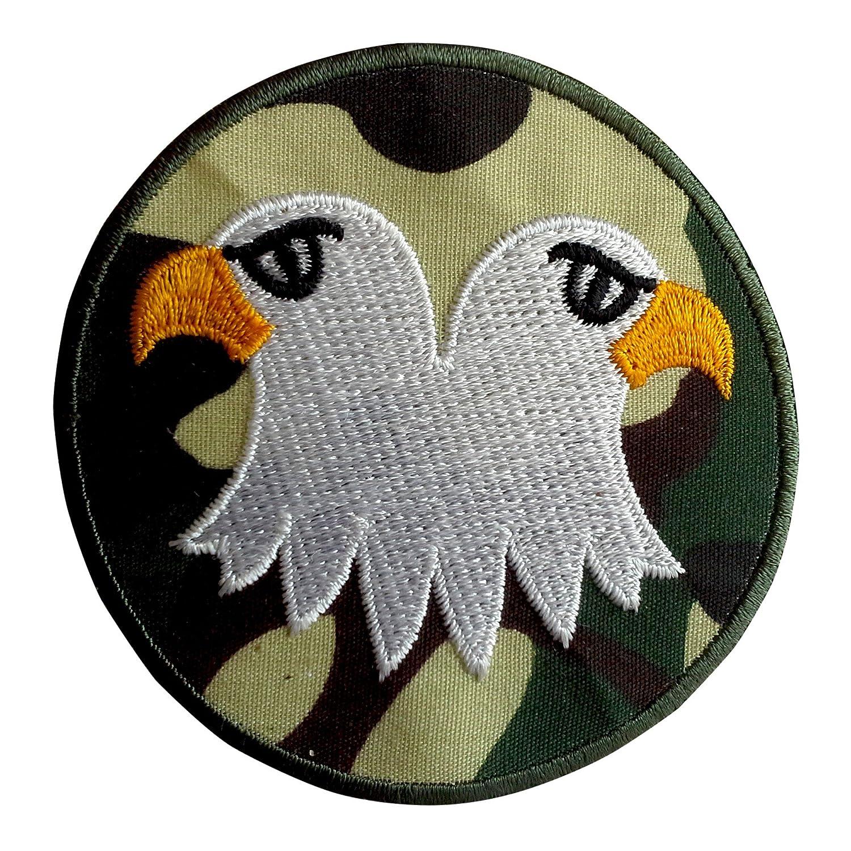 Patch Bügelbild Militär Army gold 5,5x5,1cm Aufnäher