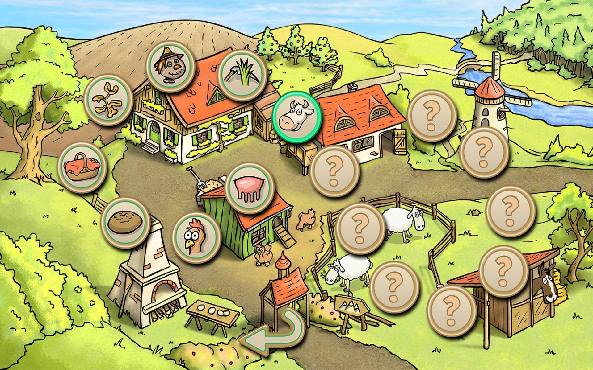 Farm Friends - Juegos para Niños: La Granja: Amazon.es: Appstore ...