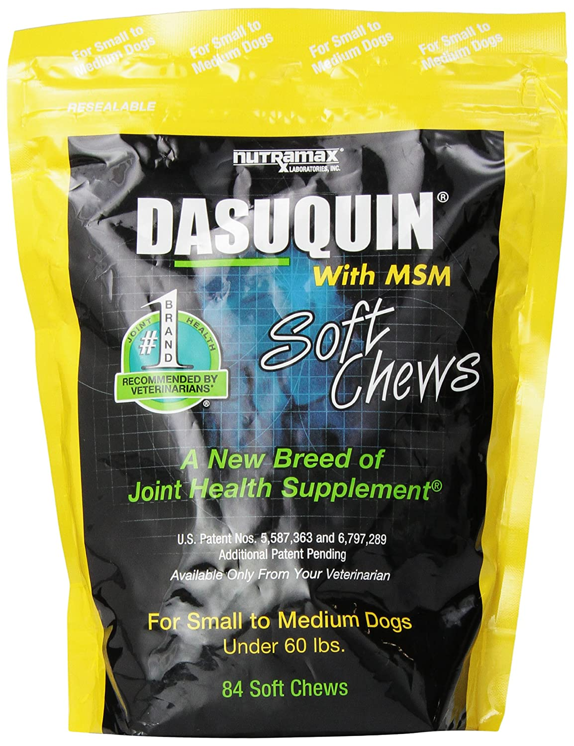 Nutramax Dasuquin With Msm Soft Chews Small Medium Dog Nutrimax Healthy Joint 60 Tablet 84 Count Pet Bone And Supplements Supplies
