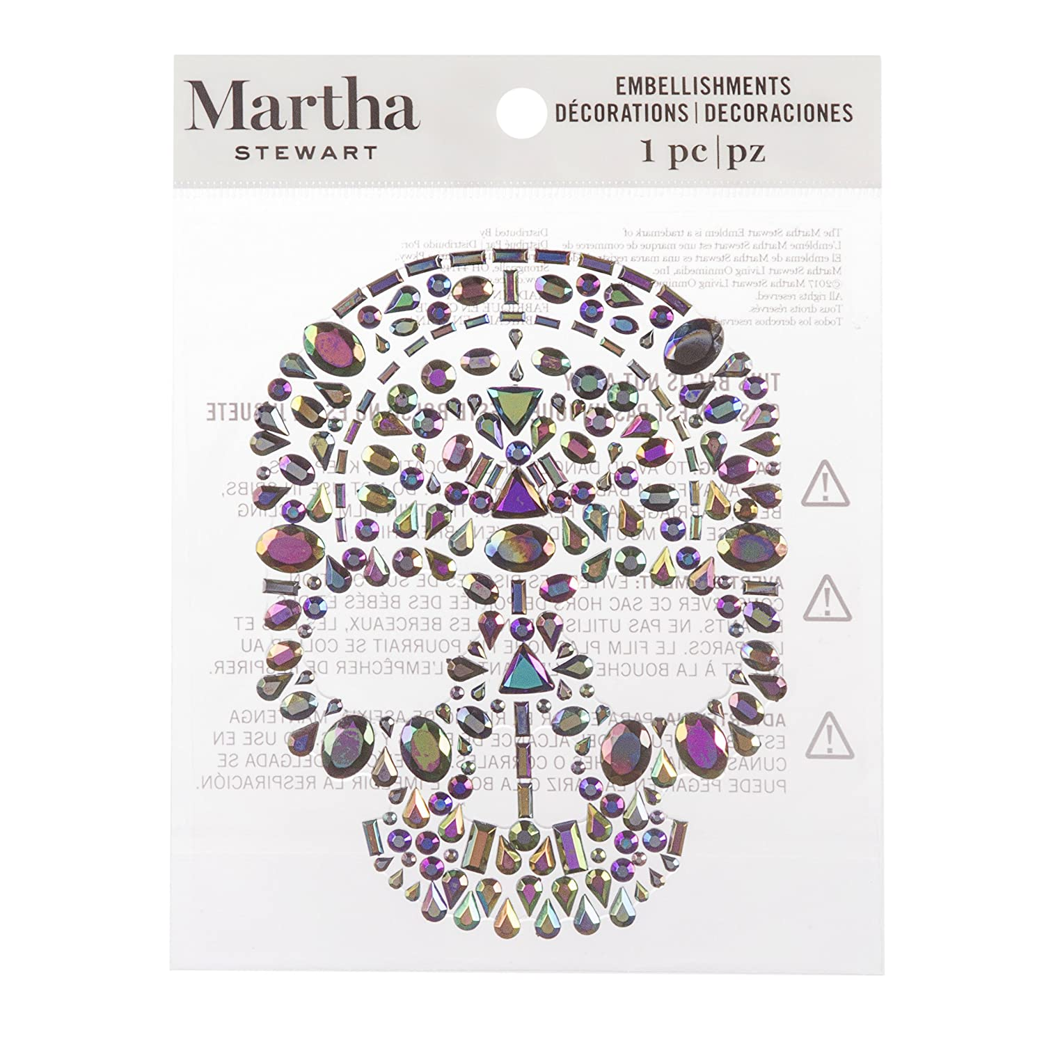 Martha Stewart Large Halloween Icon Stickers with Foil Accents
