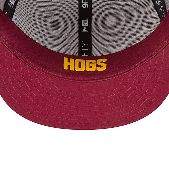 4c583769ef9 Amazon.com   New Era Washington Redskins 2018 NFL Draft Official On-Stage  59FIFTY Fitted Hat - Heather Grey   Sports   Outdoors