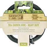 Gardener's Mate 14020 Heavy Duty Garden Wire, Green, 30 m