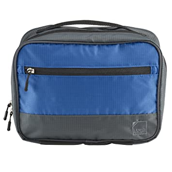 0d6193bf251c46 Amazon.com | Lewis N. Clark Discovery Hanging Toiletry Kit, Blue | Packing  Organizers