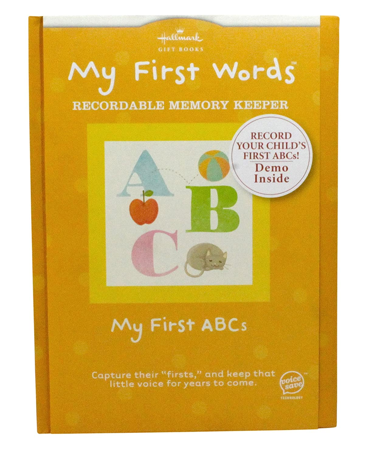 Hallmark Recordable Books DIG5802 My First ABC's Recordable Memory Keeper