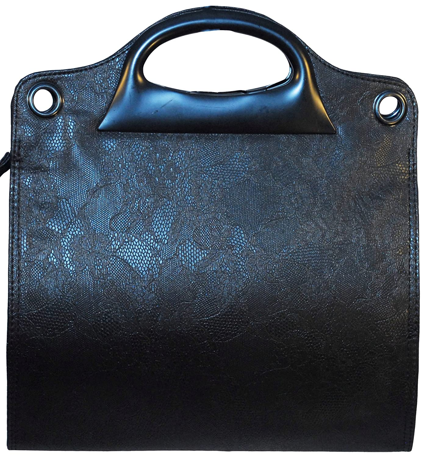 """High Quality Luciano Caruso Womens' Designer Handbag. Stitched Vegan Leather. Adjustable Detachable 41"""" Strap. Adjustable Width. Pockets, Zippers, Compartments and More."""