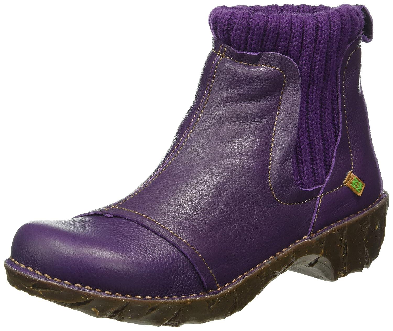 El Naturalista Ne23 Soft Grain Yggdrasil, Botas Chelsea para Mujer42 EU|Morado (Purple)