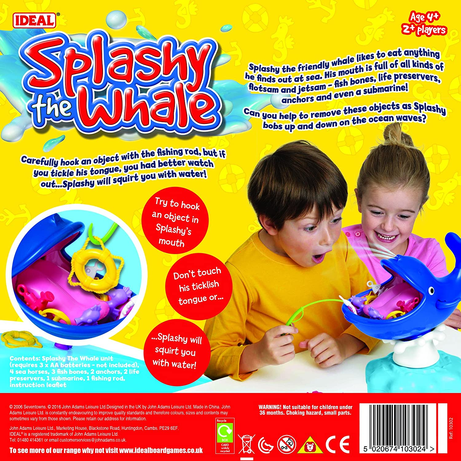 Splashy The Whale Game Excellent Condition!