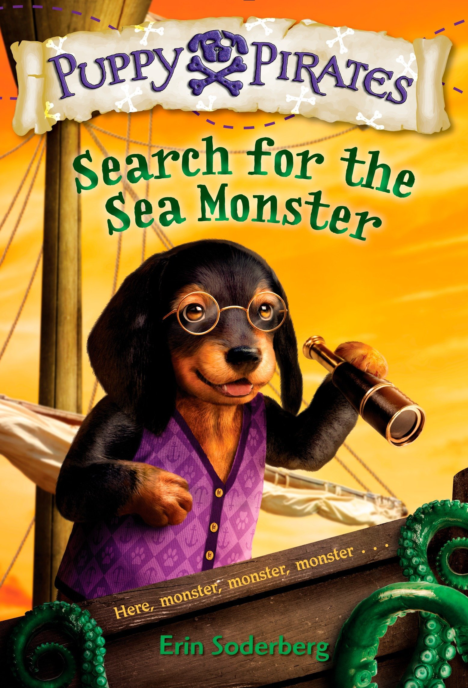 Puppy Pirates #5: Search for the Sea Monster PDF