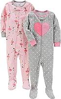 Carter's Girls' 2-Pack Cotton Pajamas