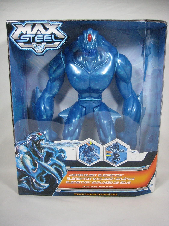 Amazon.com: Max Steel Reboot 2013 Water Blast Blue Elementor 11