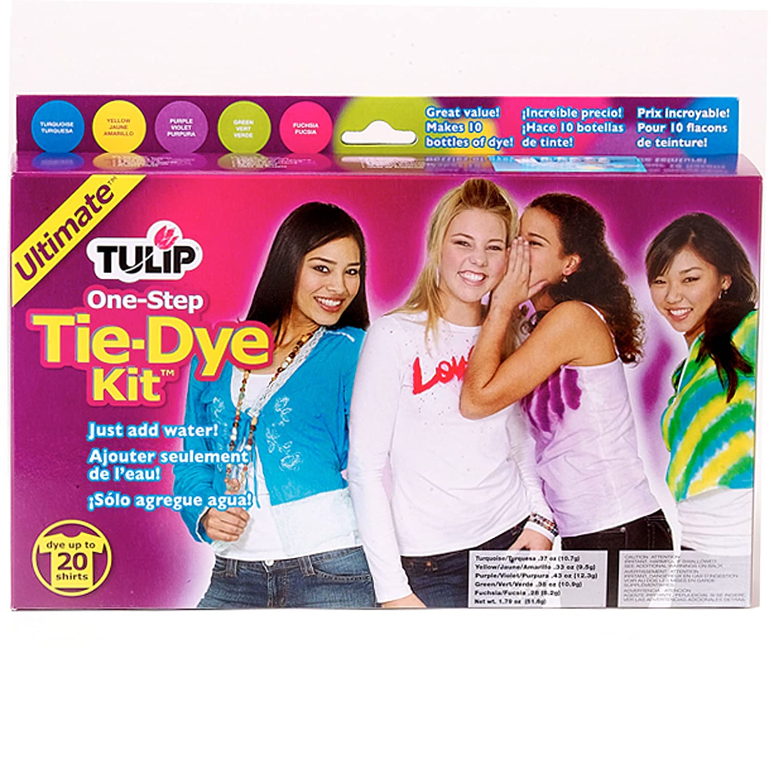 amazon com tulip one step large tie dye kit ultimate