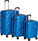 Kamiliant by American Tourister Ohana Hardside Spinner Luggage Set of 3, with Number Lock - Blue