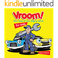 Vroom! How Does A Car Engine Work for Kids