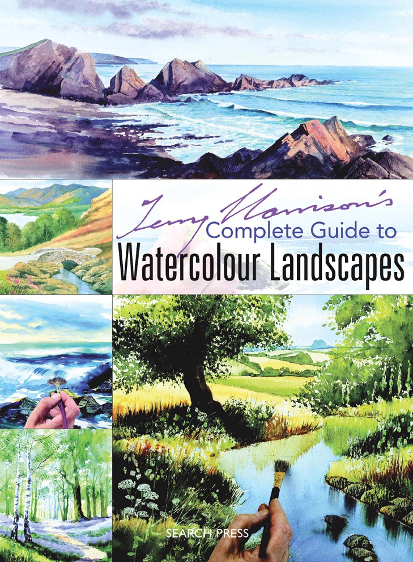 Download Terry Harrison's Complete Guide to Watercolour Landscapes PDF