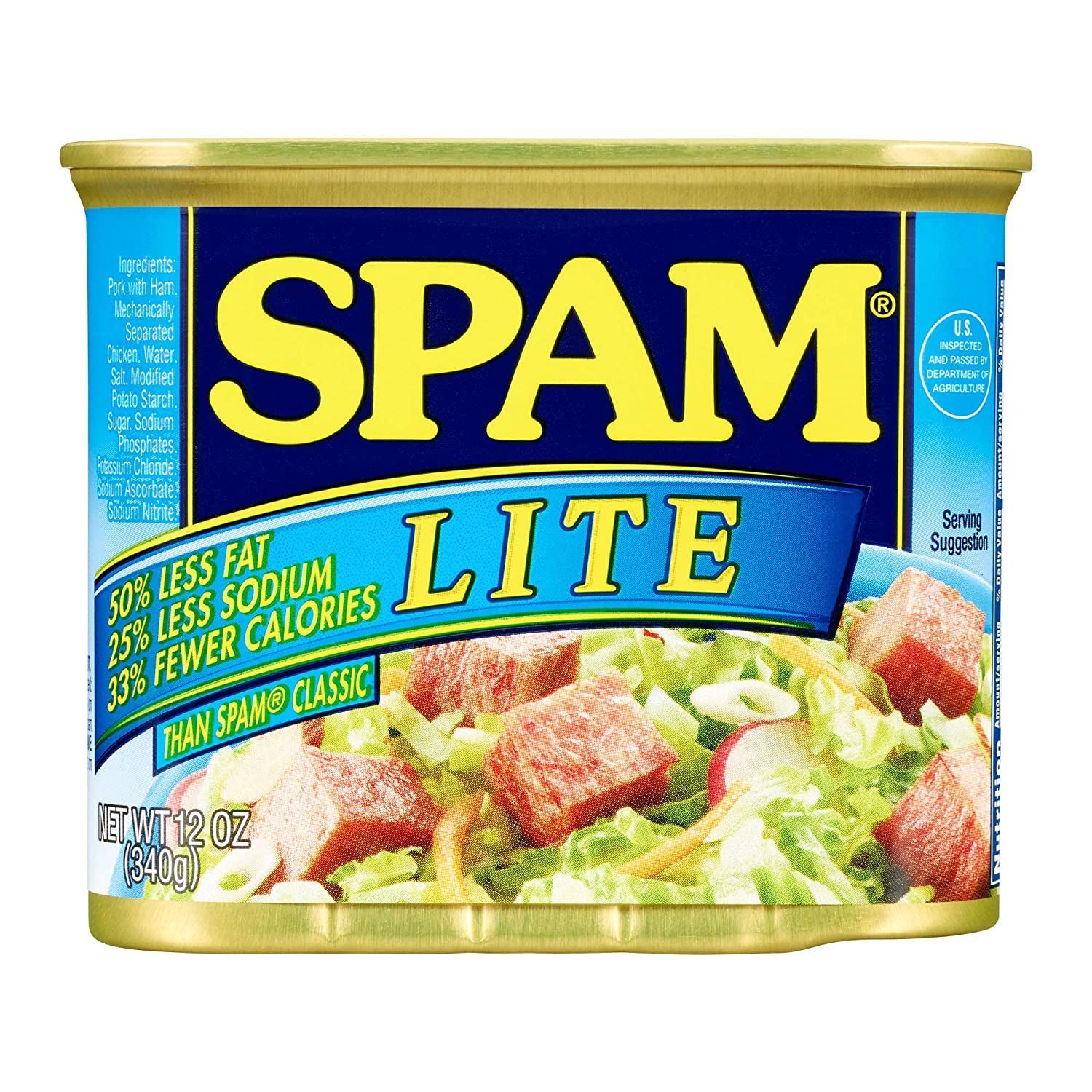 Spam Lite, 12 Ounce Can, Pack of 12