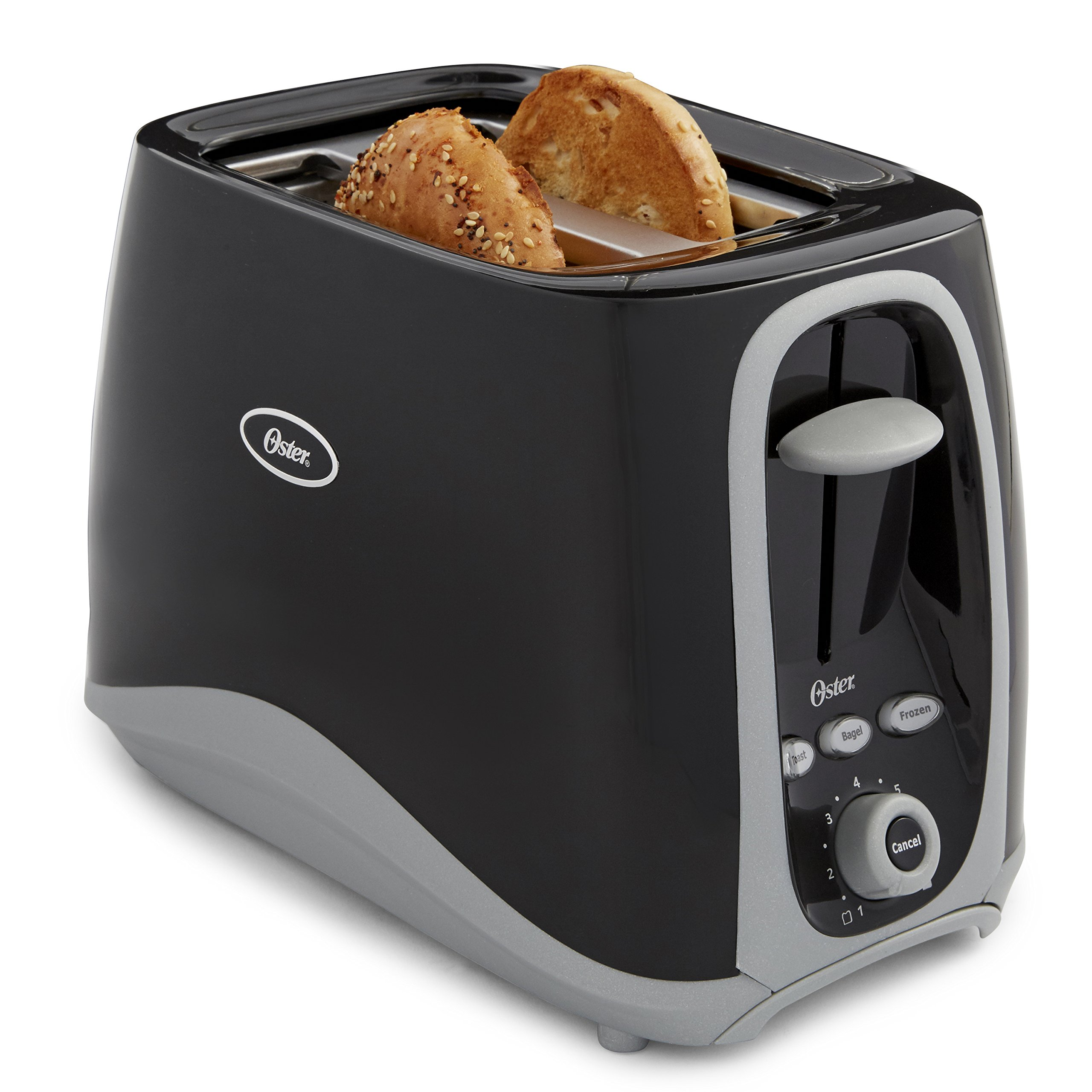 Oster 2-Slice Toaster, Black (006332-000-000) by Oster