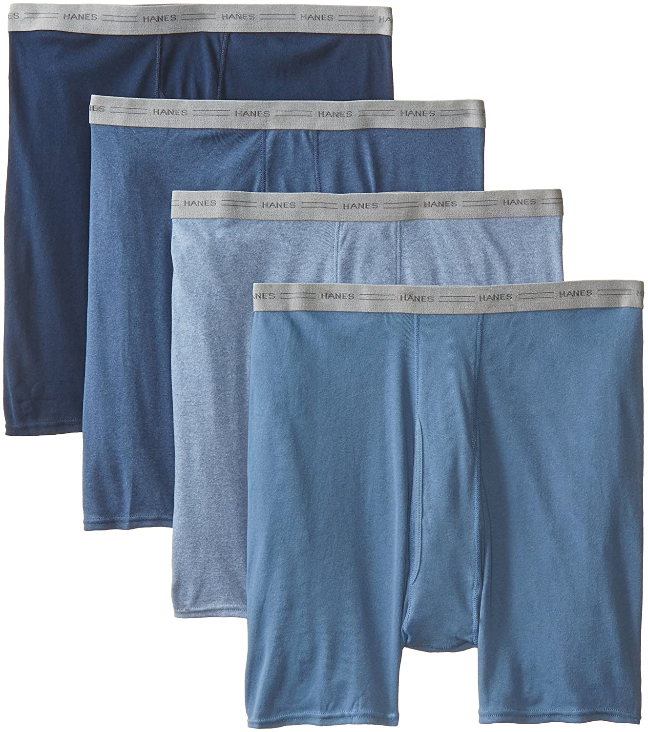 Hanes Men's TAGLESS® Boxer Briefs with Comfort Flex® Waistband 7349C4