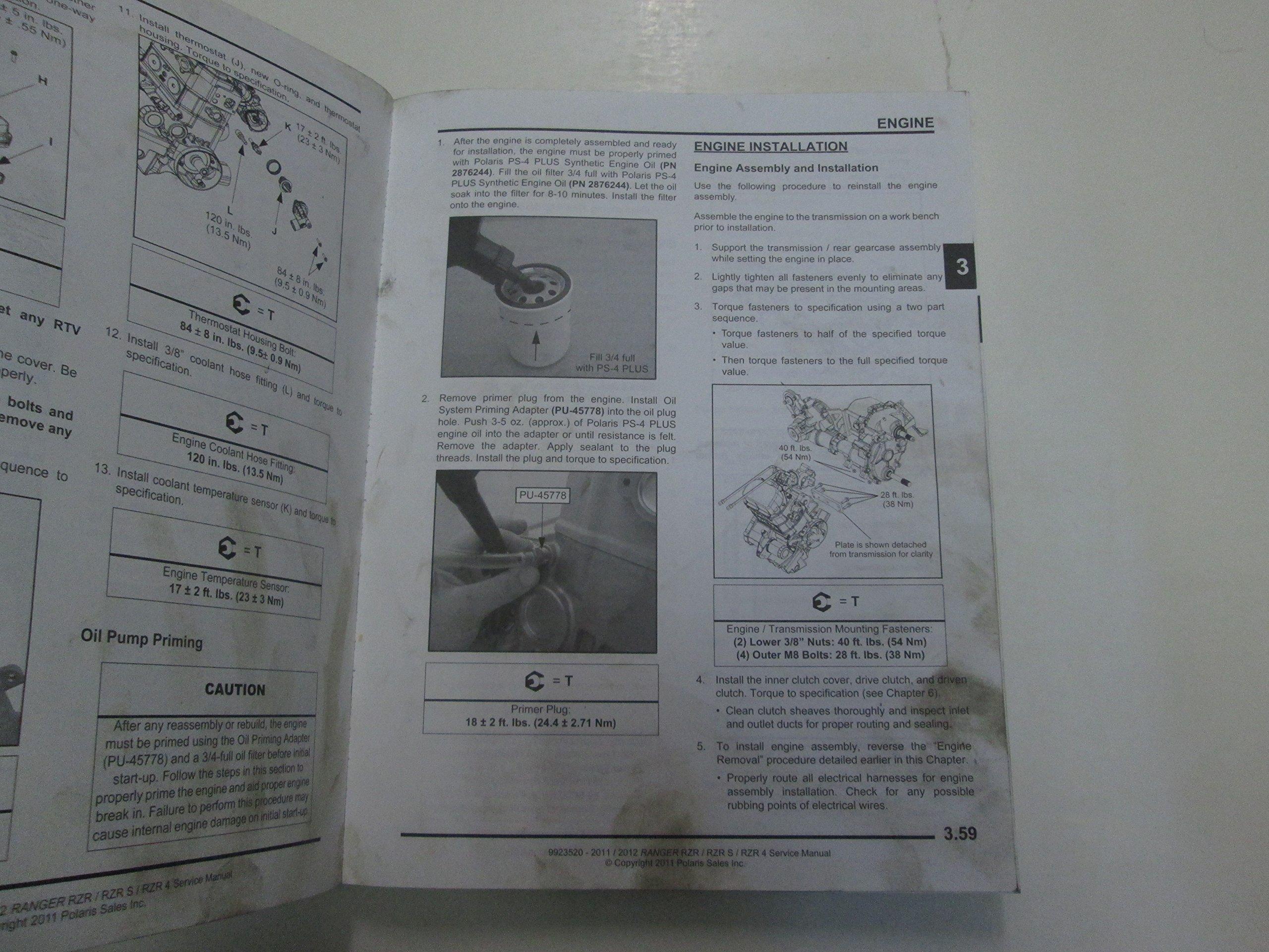 2011 polaris ranger service manual