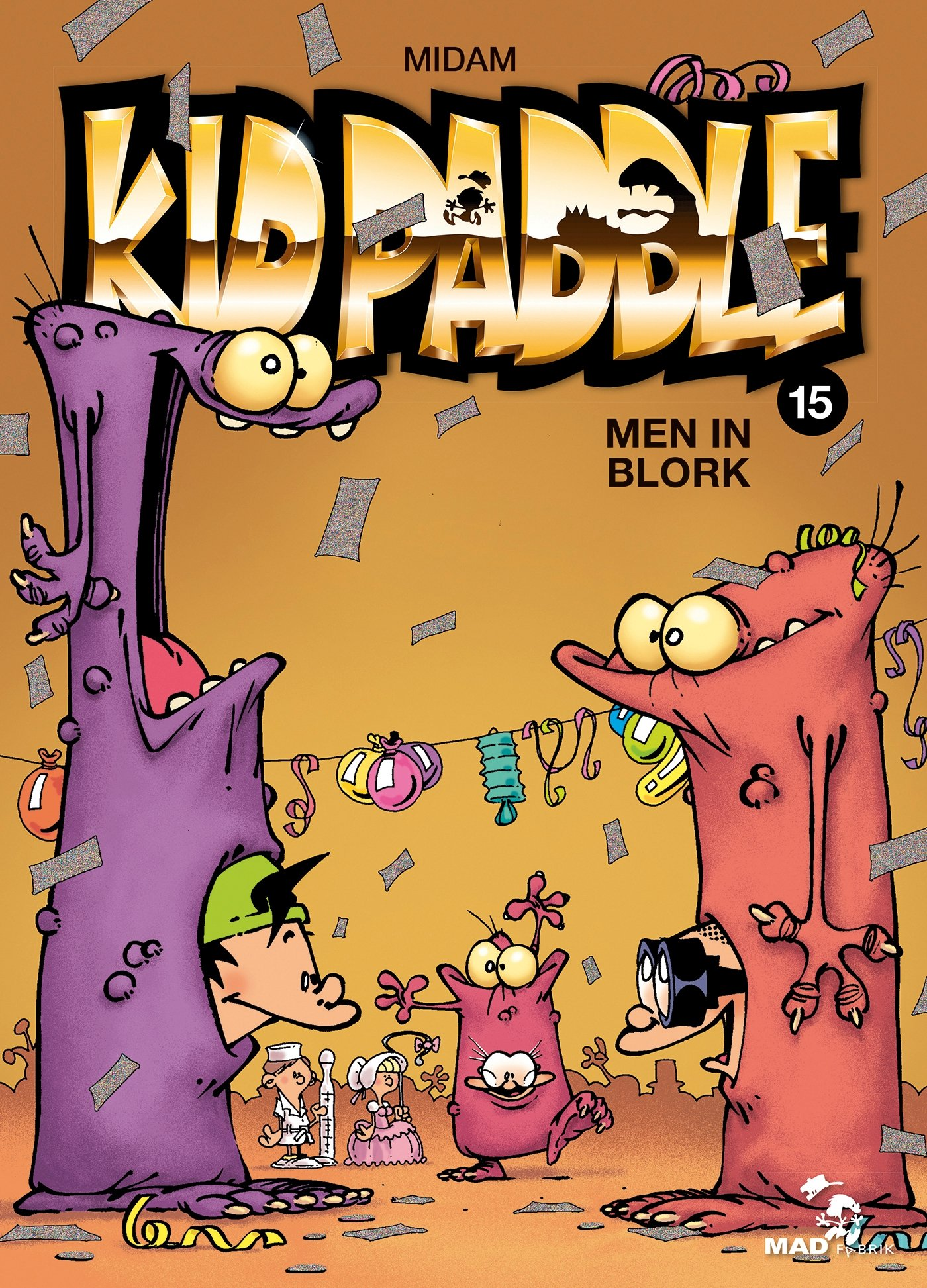 Kid Paddle Tome 15 Men In Blork 9782723499880 Amazon