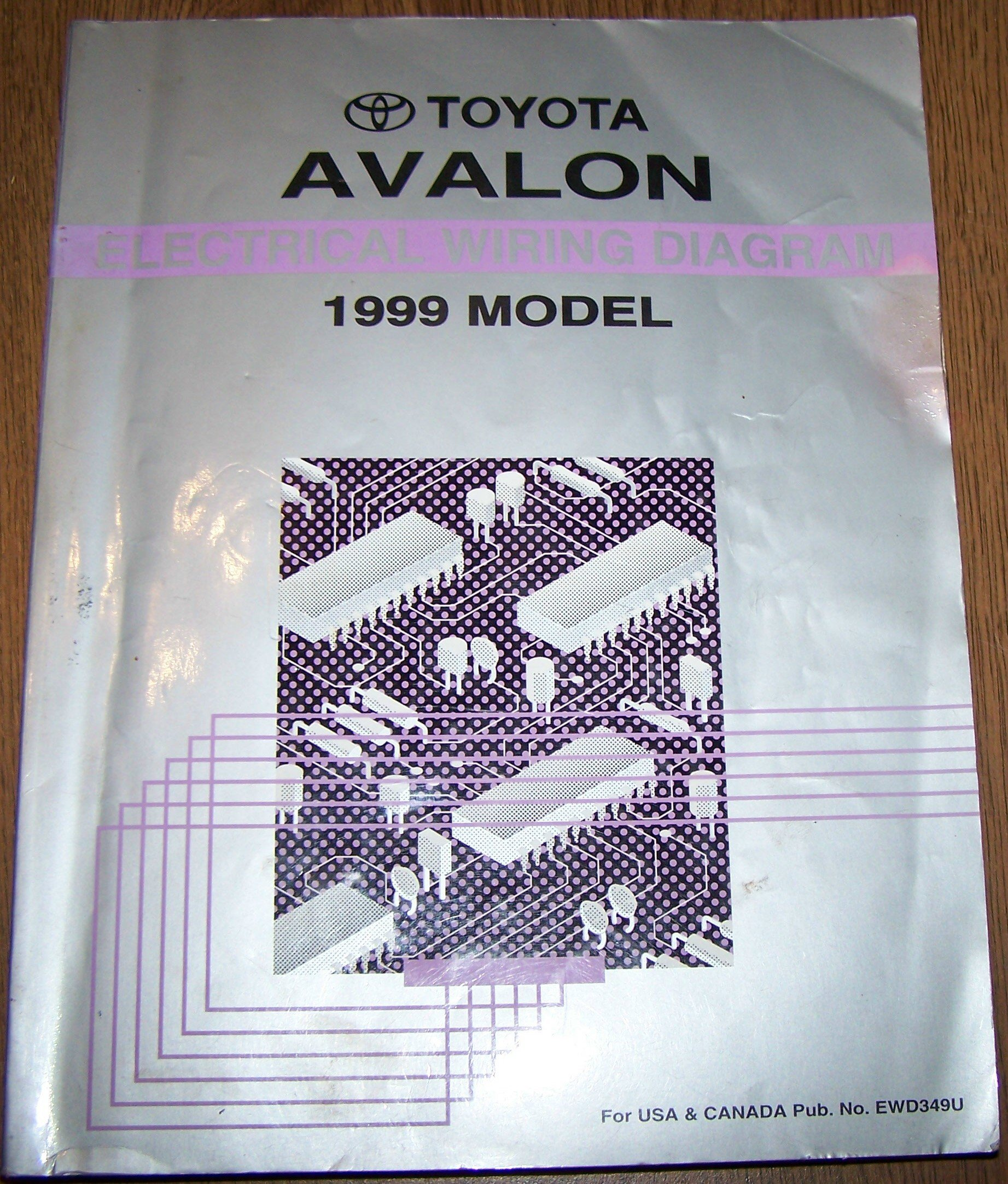 1999 toyota avalon electrical wiring diagram repair manual: toyota motor  corporation: amazon com: books