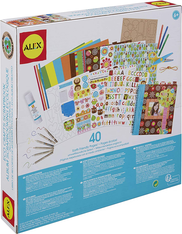 Alex Craft Eco Crafts Scrapbook Kids Art and Craft Activity