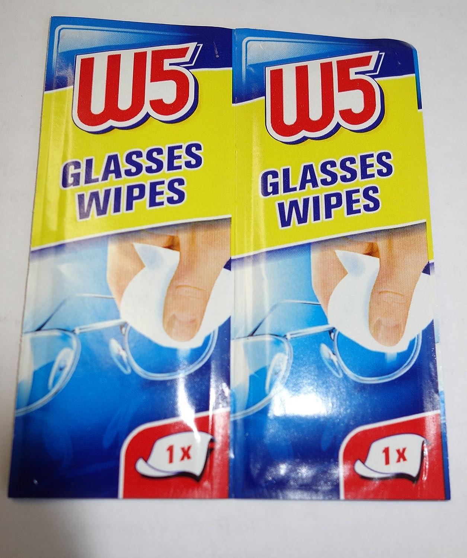 Un paquete con 54 toallitas limpiadoras de lentes / gafas: Amazon.es: Deportes y aire libre