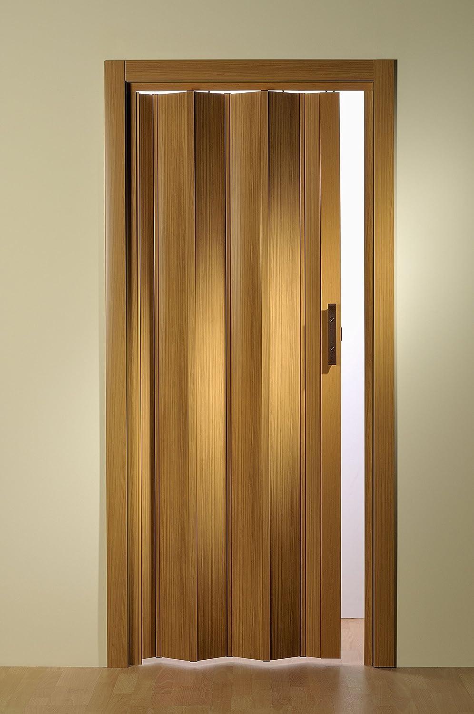 Faltt/ür Monica buche pastell 83x204 cm doppelwandig Kunststoff