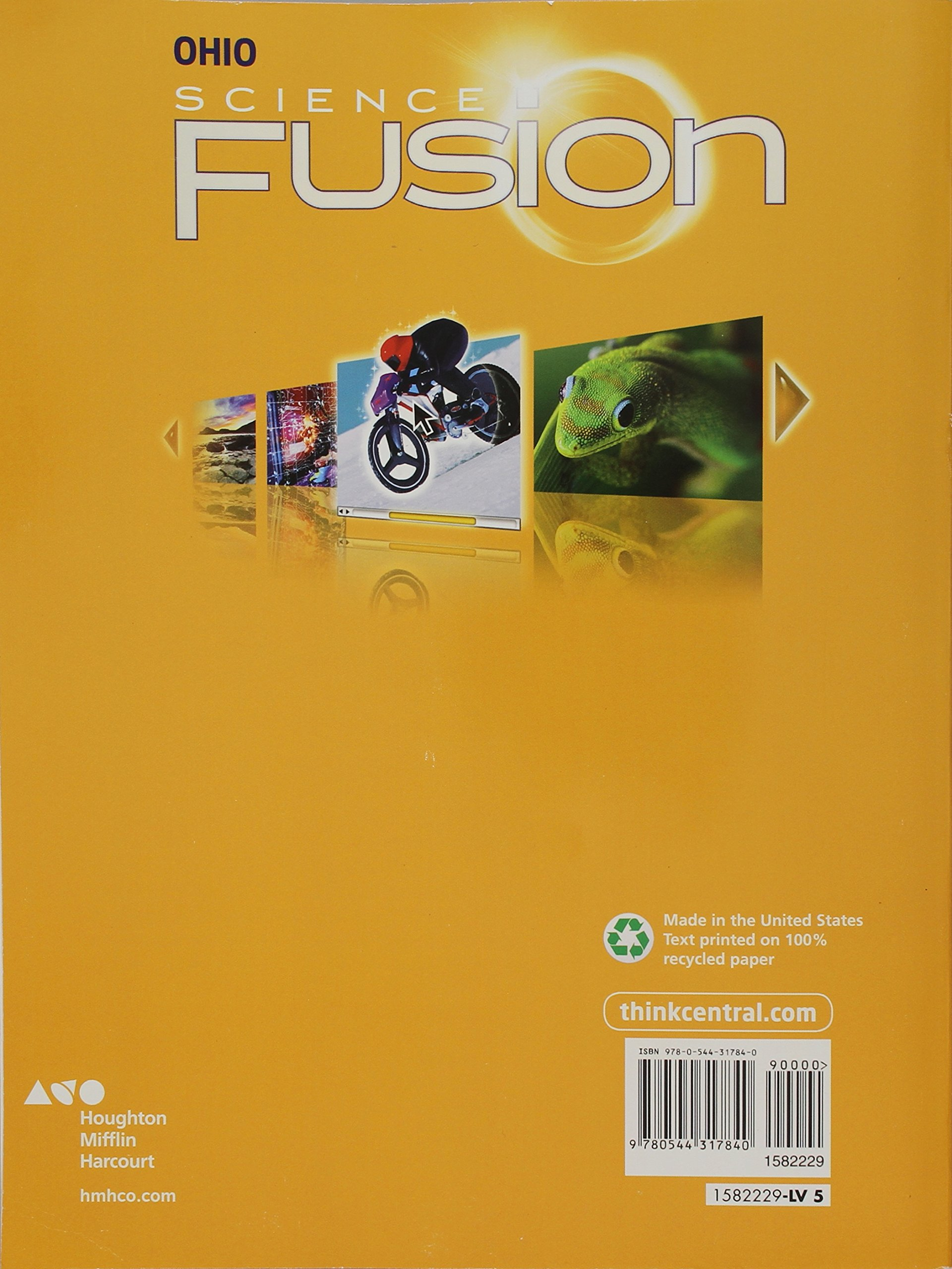 Houghton Mifflin Harcourt Science Fusion: Student Edition