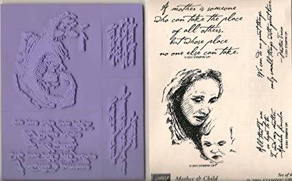 Image Unavailable Not Available For Color Stampin Up Mother And Child Hostess Appreciation Stamp Set