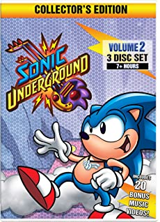 sonic underground volume 2 collectors edition - Sonic Christmas Hours