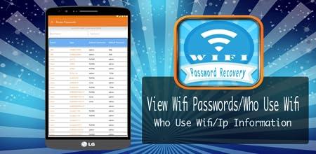 Amazon com: Wifi Password Recovery - Who Use My Wifi