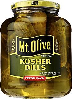 product image for MT. Olive Kosher Dills Pickles Jar, 46 oz