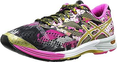 ASICS Zapatillas de running Gel-Noosa TRI 10 Gr para mujer, cinta negra / dorada / dorada, 5 M US: Amazon.es: Zapatos y complementos