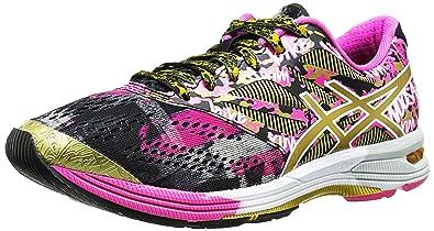 super popular 3ee5a d409e ASICS Women s Gel-Noosa TRI 10 Gr Running Shoe, Black Gold Gold