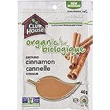 Club House Organic Ground Cinnamon 40g
