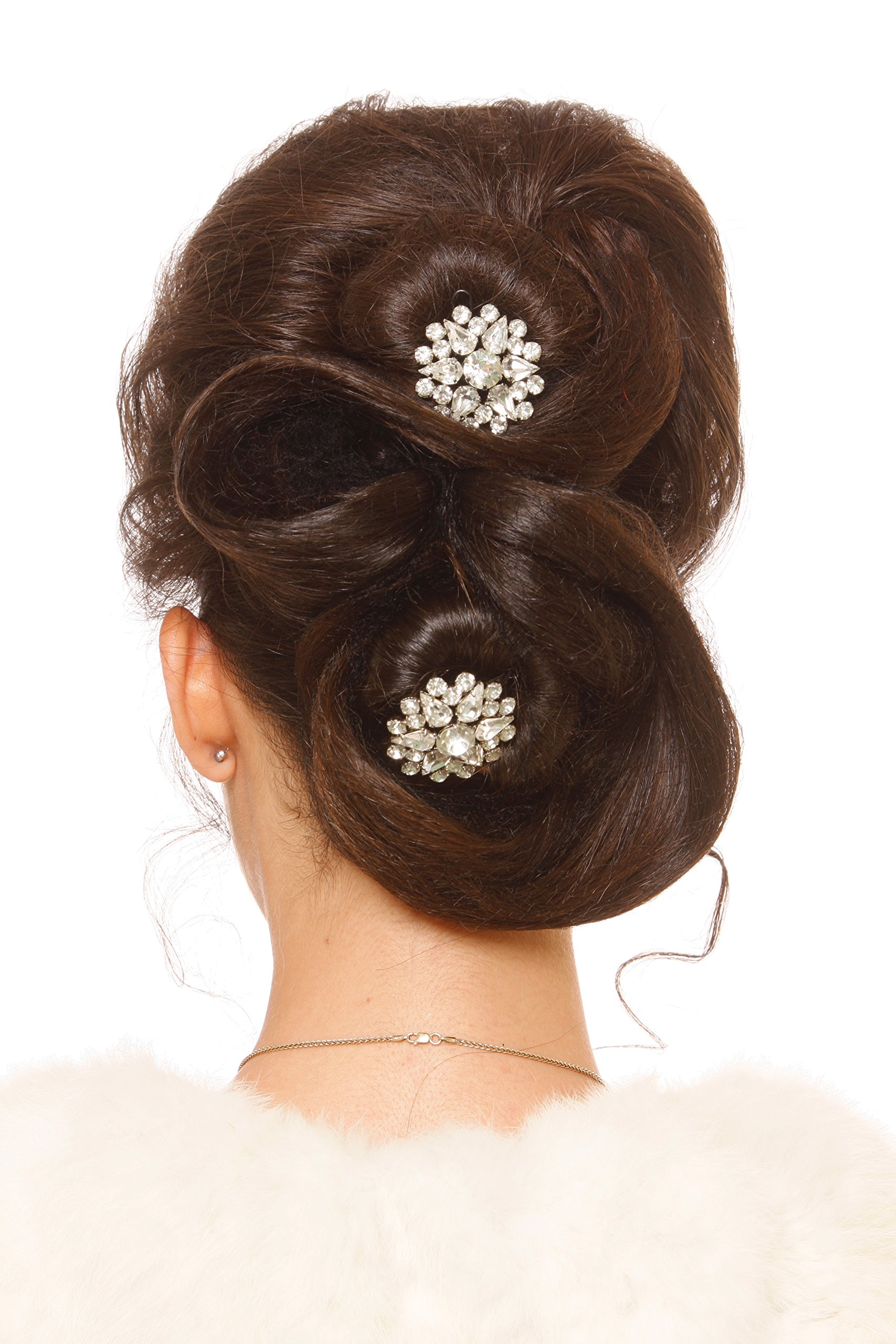 Ballerina Bunmaker-Klicinz Tool to Make Ballerina Bun Instantly-Exceptional Hold Without Hairpins-Get Salon Looking Hair in Seconds- Easy to Use- Frustration Free-Saves Time-Look Great with Celeb Look