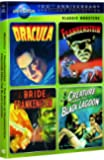 Classic Monsters Spotlight Collection (Dracula / Frankenstein / The Bride of Frankenstein / Creature from the Black Lagoon) (Universal's 100th Anniversary Edition)
