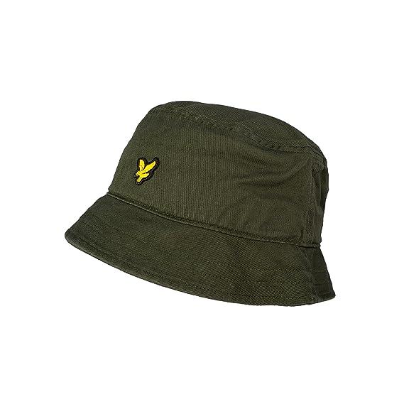8ad34a0967752 Lyle & Scott Cotton Twill Homme Bucket Hat Vert: Amazon.fr ...