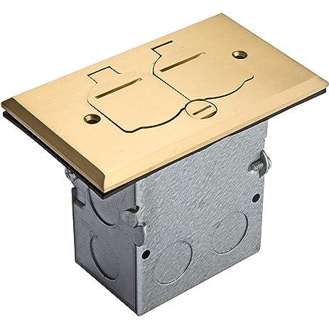 Enerlites 705507 C Floor Box Flip Open Lid Kit By Electrical Outlet Receptacle 1