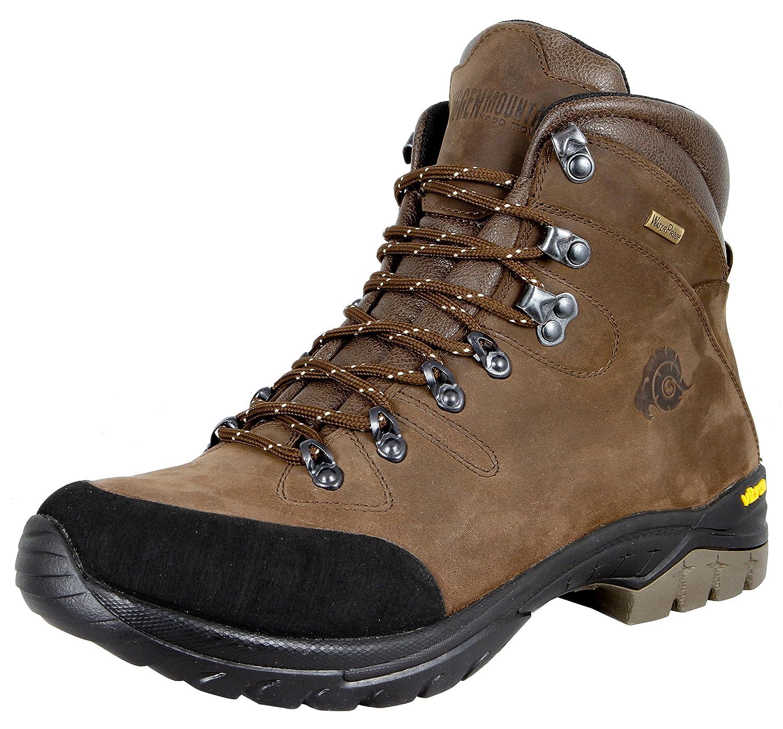 GUGGEN Mountain Damen Wanderschuhe Bergschuhe Wasserdicht Outdoor-Schuhe Walkingschuhe HPM51, Farbe Braun, EU 36
