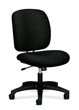 HON 5902AB10T Comfortask Task Swivel/Tilt Chair, Black