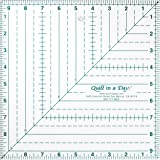 Quilt in a Day 9 1/2 Inch by 9 1/2 Inch Square Up Ruler