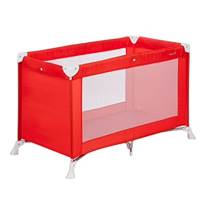 Safety 1st SOFT DREAMS Red lines - Cuna de viaje, 0-3